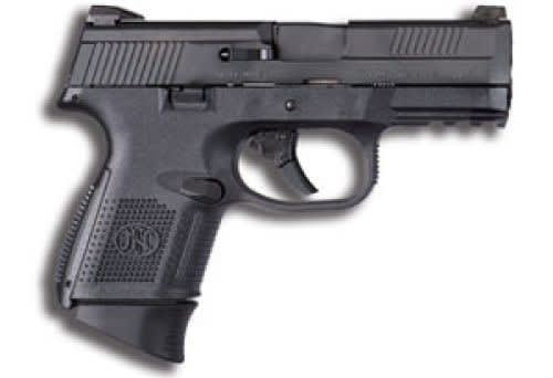 "FN FNS-9 Compact Semi Auto Pistol 9mm Luger 3.6"" Barrel 17rd - 66719"