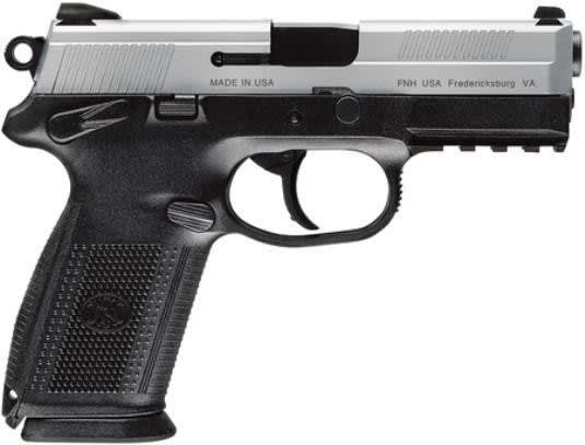 "FNH FNX-9 66826 9mm Pistol, 4"" Stainless Steel 17rd Manual Safety"
