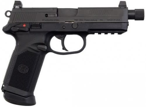FNH FNX-45 Tactical Pistol 45 ACP 15rd Black - 66966