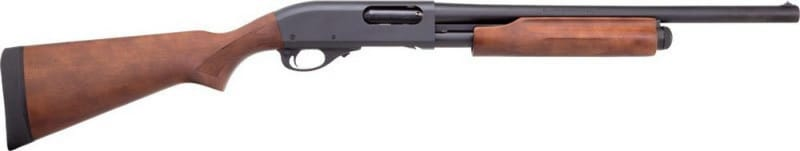 "Remington 25559 870 Hardwood Home Defense 12GA Shotgun, 18.5"" CYL Bore Choke"