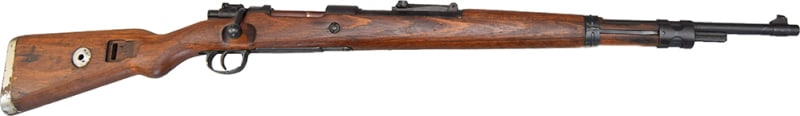 Czech BRNO K-98, 8mm, 5 Round Bolt Action, Original Turn In Surplus Condition - W / Minor Cracked Stocks - Circle T Marked.