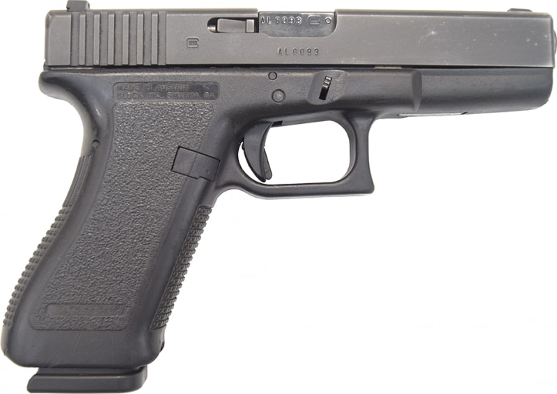 Glock 22 Gen 2 Used, Law Enforcement Trade In with Glock Night Sights and 1 Factory 15 Rd Mag - Good / Very Good