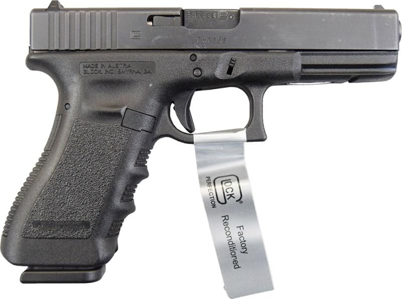 Refurbished Glock 22 Gen 3 .40 S&W Standard Size Handgun w/ F/S and (2) 15 Rd Mags GLPR22509-RF
