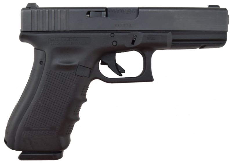 Glock 22 Gen 4, Used Law Enforcement Trade In with Night Sights and 1 Factory 15 Rd Mag - Very Good Condition