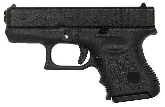 Glock 27 .40 Cal SubCompact Handgun w/ F/S and (2) 9 Rd Mags PI2750201