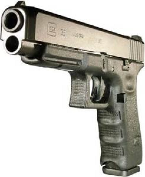 Glock 35 .40 S&W Competition Handgun w/ (2) 15 Rd Mags and A/S PI3530103
