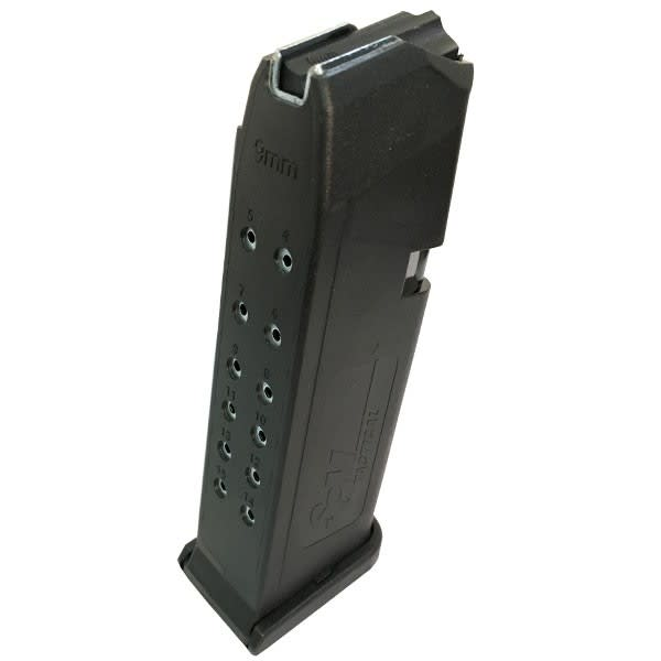 Glock Model 19, 15 Round Mag by SGM Tactical for 9mm Glocks