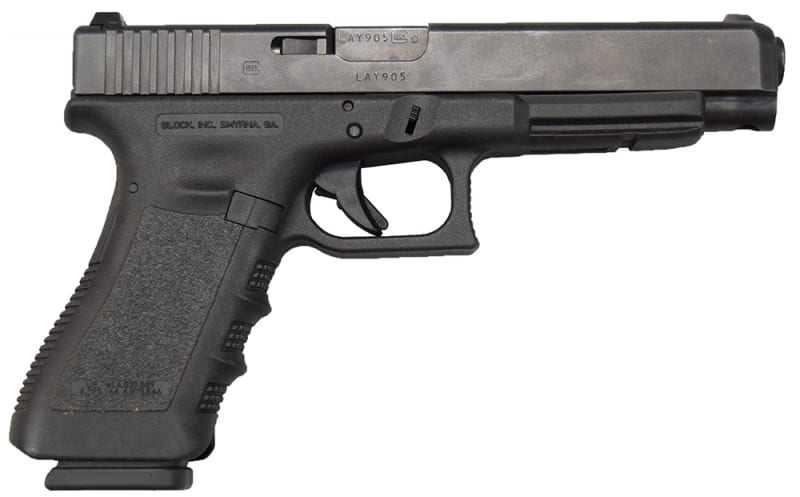 Glock 35 Gen 3 Law Enforcement Trade-ins - .40 S&W, Compensated - Used Very Good Condition