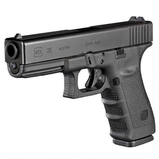 """Glock 20SF 10MM Pistol, 4.60"""" Fixed Sight 15rd - GLOCK PF2050203"""