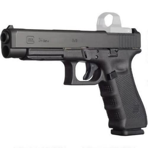 "Glock G35 Gen 4 Competition Double 40 SW Pistol, 5.3"" 15+1 Black - UG3530103MOS"