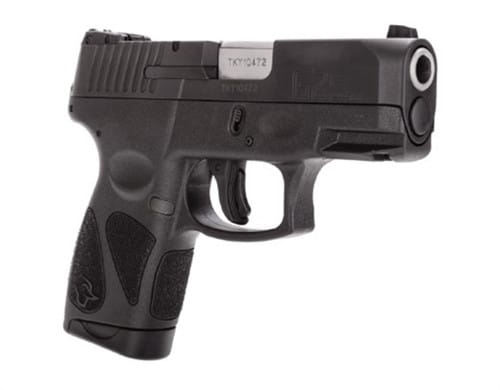 "Taurus G2S 9mm 3.25"" 7RD Sub Compact Black- G2S931"