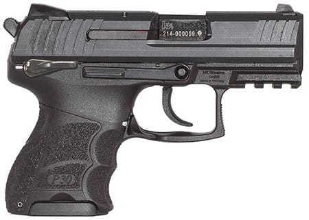 "Heckler & Koch 930SK V3 9mm Pistol, 3.27"" Subcompact Night Sight Ambi Safe - HK 730903KSLEA5"