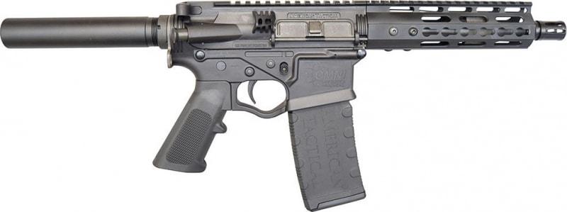 "ATI Tactical Omni Maxx Hybrid AR-15 Pistol, 5.56/.223 7.5"" Barrel, Black Optic Ready - ATIGOMXP556"