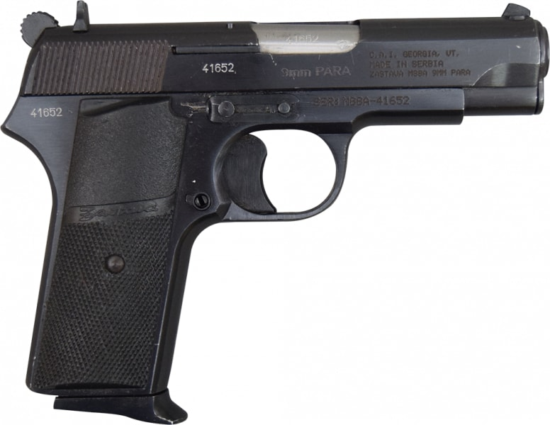 Zastava M88A 9mm TT Tokarev Type Pistol - Surplus, Various Surplus Condition HG3208