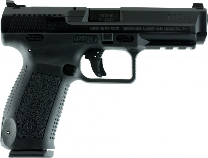 Canik TP9SF 9mm Pistol w/ 2 Mags and Warren Tactical sights - HG4070-N