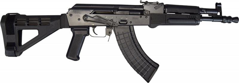 Polish Hellpup AK-47 Pistol 7.62x39 W/ Fixed Pistol Brace