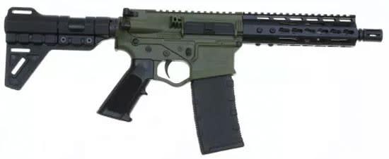 "ATI Omni Hybrid MAXX AR15 Pistol, 5.56/.223 7.5"" Barrel, 7"" Keymod, Plum Crazy LPK - ATIGOMX556P4BBFG"