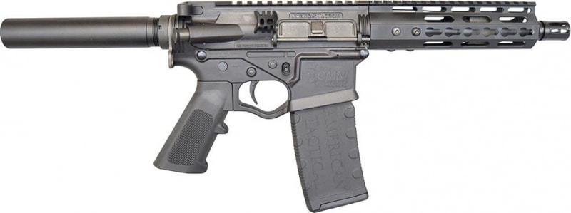 "ATI Tactical Omni Maxx Hybrid AR-15 Pistol, 5.56/.223 7.5"" Barrel, Black Optic Ready - ATIGOMXP556"
