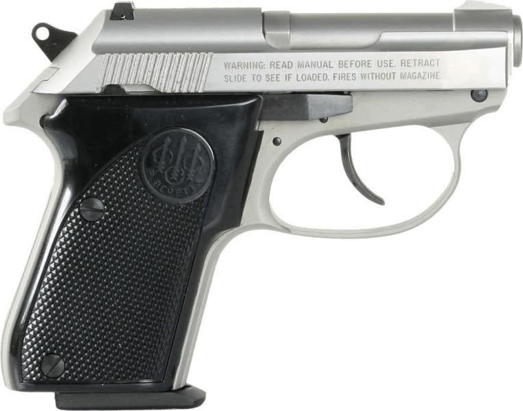 "Beretta J320500 3032 Tomcat 32 ACP 2.4"" 7+1 Black Synthetic Grip Stainless"