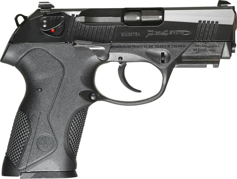 "Beretta JXC9FGEL PX4 Storm DA/SA 9mm 3.2"" 15+1 Black Polymer Grip/Frame Grip Gray Cerakote"