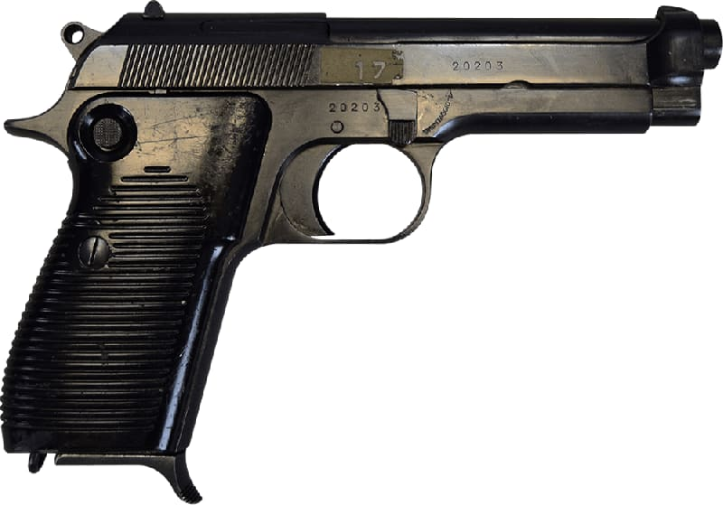 Beretta M1951 9mm Semi-Auto Pistol with 1 Mag, 8rd, NRA Surplus Good Condition