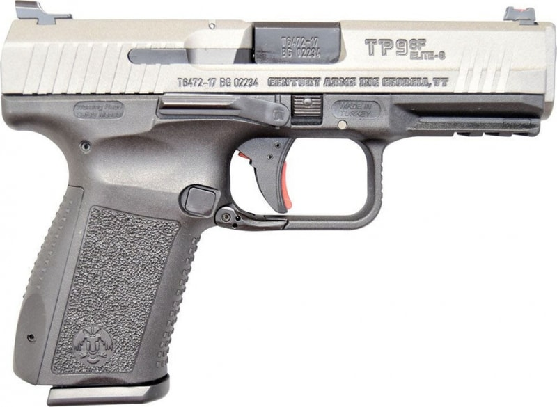 "Century Arms Canik TP9SF Elite-S 9mm Pistol, 4"" Trigger Stop 15rd - HG3899T-N"