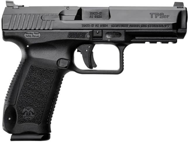 Century Arms Canik TP-9,  TP9SF One Pistol 1-18rd Mag Black Polymer Frame - HG4989-N