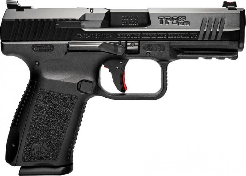 Century Arms Canik TP-9, TP9SF Elite One Pistol 1-15rd Mag Black Polymer Frame - HG4990N