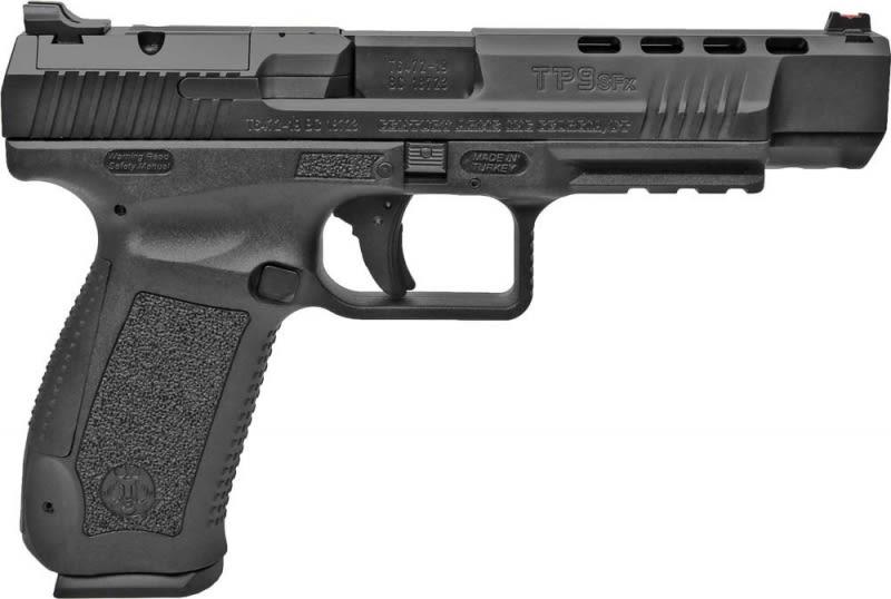 Century Arms Canik TP9SFX Semi-Auto 9mm Pistol 20rd Black Frame/Slide - HG5632N