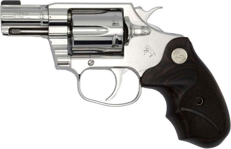 """Colt COBRA-SS2BB Cobra Bright REV 38+P 2"""" BSTS Revolver"""