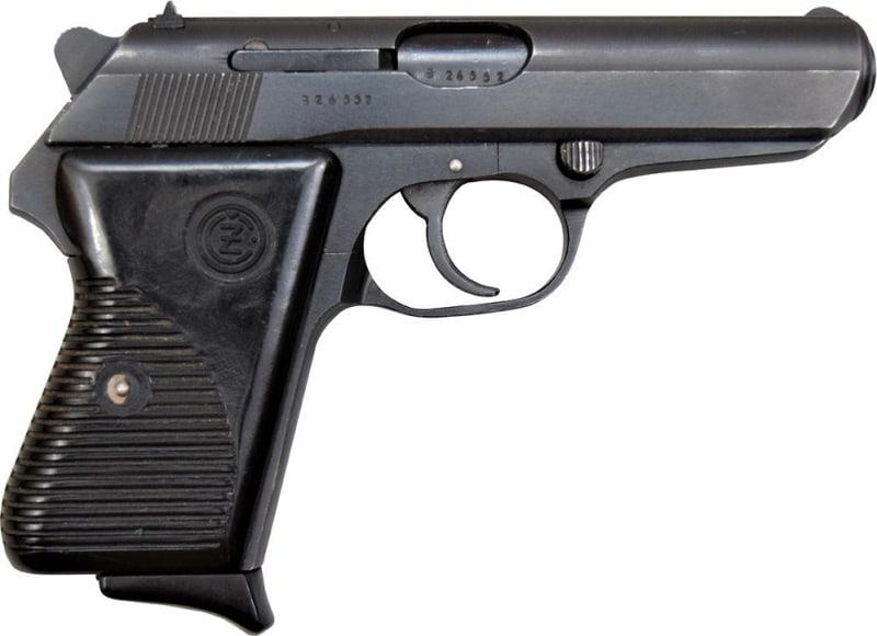 CZ-50 .32 ACP Pistol, Semi-Auto, 8 Round Mag, Surplus - Made in Czechoslovakia. C & R Eligible
