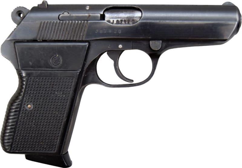 CZ-70 .32 ACP Pistol, Semi-Auto, 8 Round Mag, Surplus - Made in Czechoslovakia