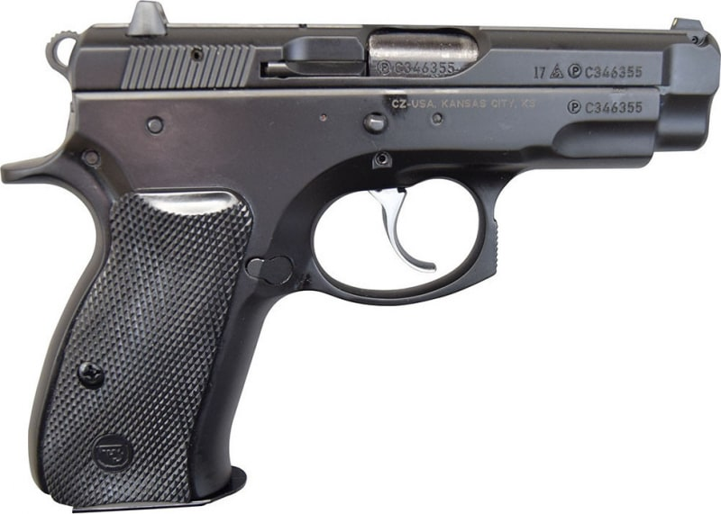CZ 75 Compact 9mm Pistol, (2) 14 Rd Mags, - 91190