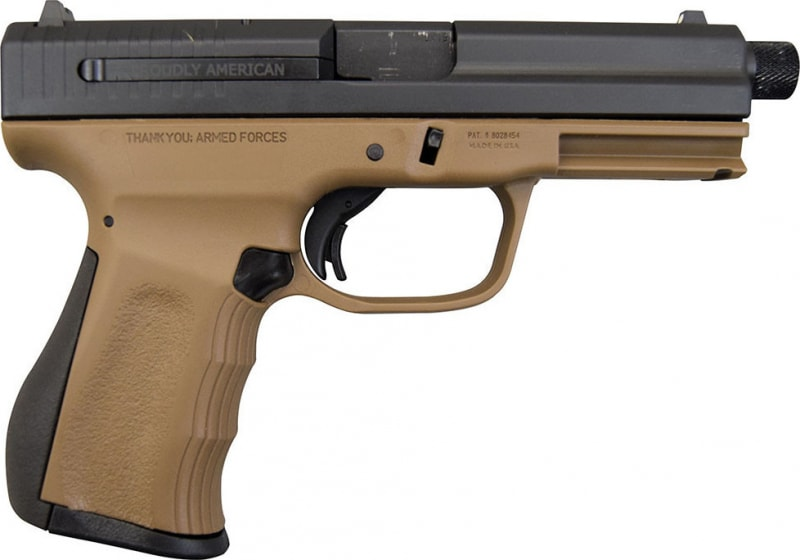 FMK 9C1 G2 9mm Pistol, Threaded Barrel - Burnt Bronze (2)14 Rd mags - FMKG9C1G2TBRT