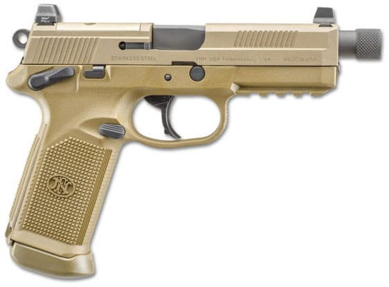 FNH FNX-45 45 ACP Tactical Pistol - Flat Dark Earth DA/SA Action - 15rd - 66968