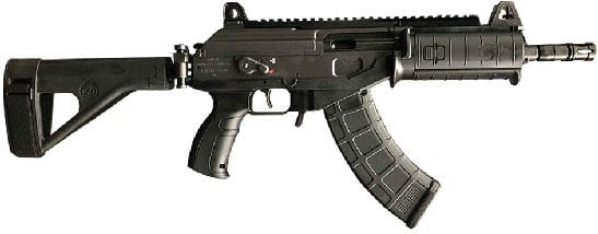 IWI GAP39SB Galil ACE Pistol 7.62x39 with Side-Folding Stabilizing Brace
