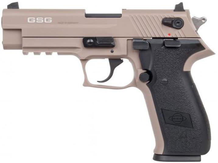 "GSG German Sports Guns GERG2210FFT GSG Firefly DA/SA 22 LR 4"" 10+1 Tan Polymer Grip Tan"