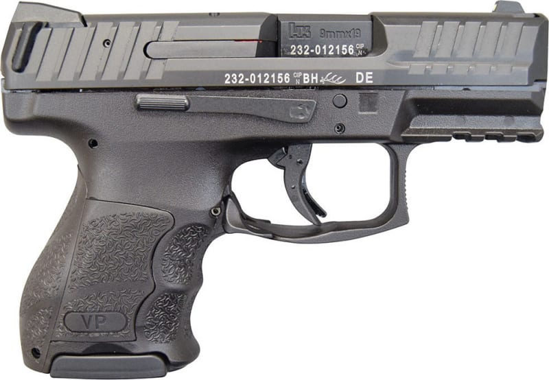 "Heckler & Koch VP9SK Sub Compact 10 Rd 9mm 3.4"" Barrel- 700000K-A5"