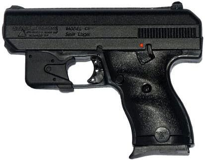 "Hi-Point 9mm Pistol, 3.5"" with Crimson Trace Black Polymer Grip - 916LLTGM"