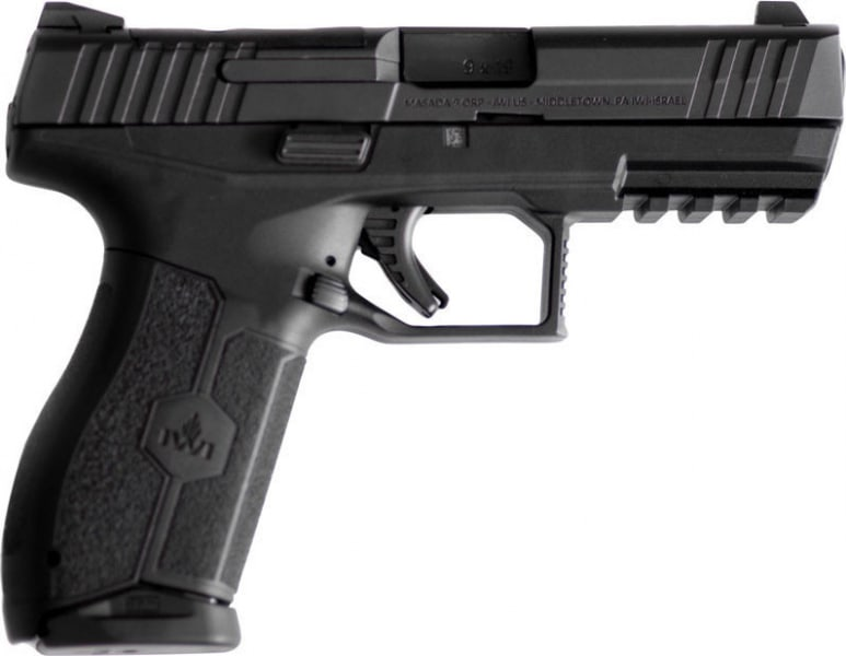 IWI M9ORP17 Masada 9mm Pistol 17rd Black