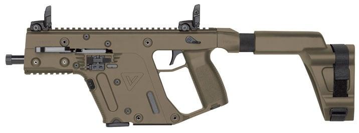 Kriss Vector Sdp G2 5.5 Threaded Fde Arm Brace 9mm - KV90PSBFD20