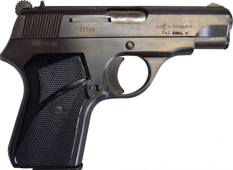 Zastava M70 Semi Auto Pistol, 7.65/.32 ACP - Very Good to Excellent condition
