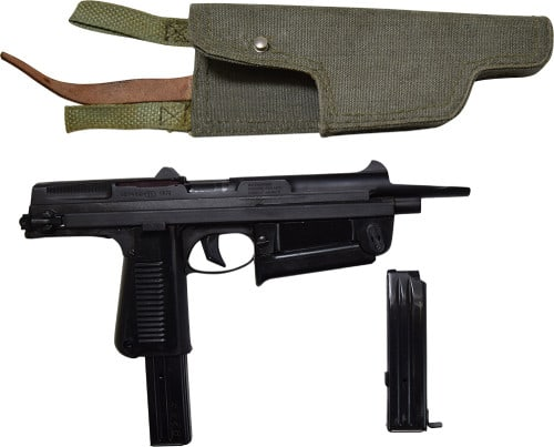 Polish PM-63C RAK Semi-Auto Pistol 9x18 Caliber Pistol W / 1-15 and 1-25 Round Mag, Manufactured by Pioneer Arms Radom Poland