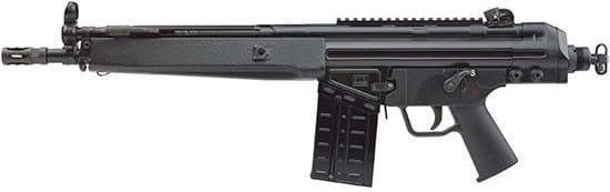 PTR 111 91 K3P Pdwr .308 Winchester 12.5 HK33 HG Black 20rd