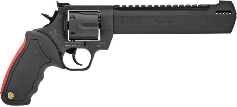 Taurus 2440081RHDLX 44MG Ragin HNTR 8 3/8 Black w/CASE Revolver