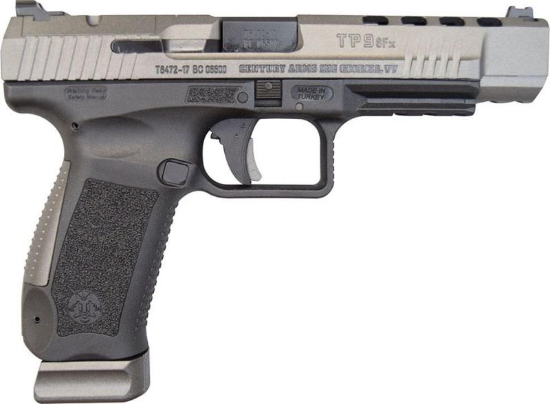 Canik TP9SFx Warren Tactical Sights, Tungsten, 9mm, (2) 20 rnd Mags- 2017 Handgun of the Year - HG3774G-N