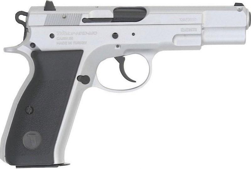 "TriStar Arms S-120 9mm Semi-Auto Pistol, 4.7"" Chrome 17rd - 85070"
