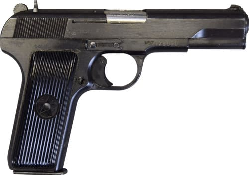 Yugoslavian M57 TT Tokarev Pistol - 7.62x25 Caliber W/ Trigger Safety - Surplus Good - Very Good and Excellent Condition - This SKU Is Not C&R Eligible