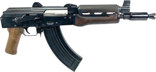 Zastava ZP92762DW ZPAP92 10 AK Pistol Walnut PG