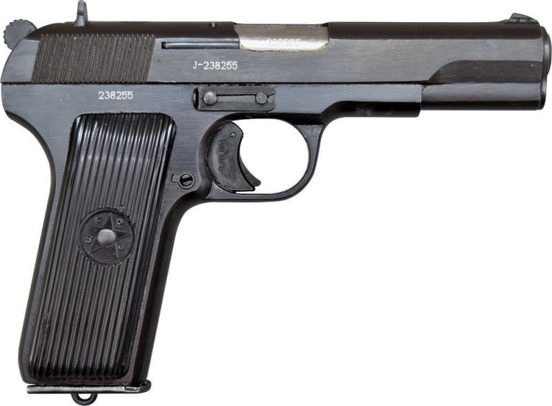 Zastava M57 Tokarev Semi-Auto Pistol, 7.62x25 Surplus Very Good Condition